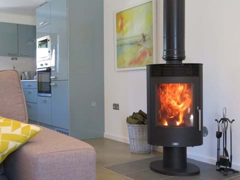 Cosy up in front of the woodburner