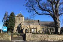Lesbury village church