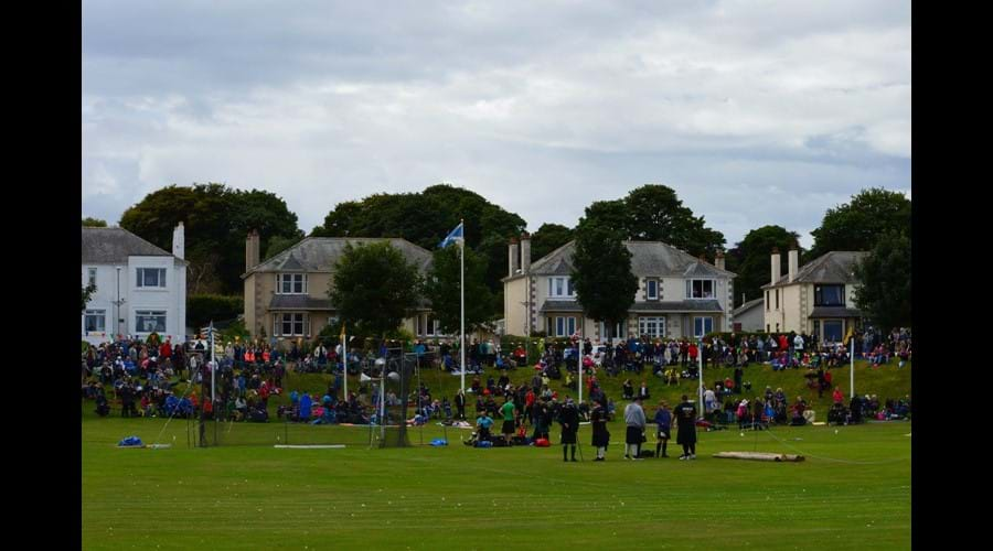 St Trinneans presides over Nairn Games every August.