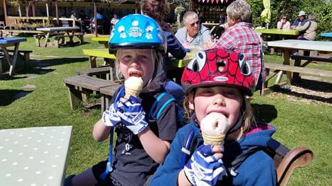 Stops for cream teas and ice cream