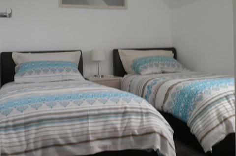 Twin Bedroom with DVD/TV