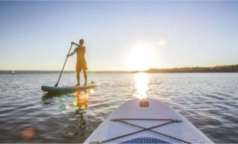 SUP around the coast or on the Whiteadder louch