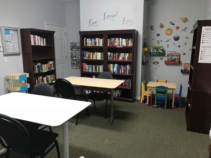 Clubhouse Reading Room