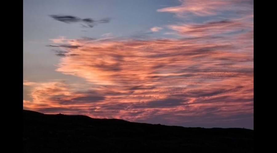 Bernera sunset