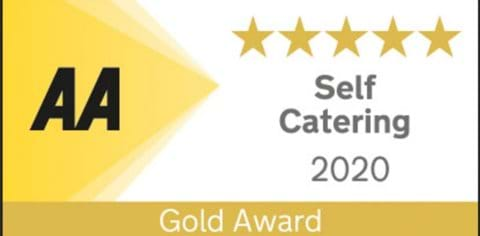 AWARDED 5 STAR GOLD FROM THE AA