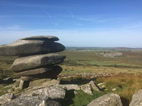 Nearby Cheesewring Tor