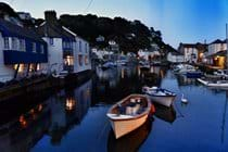 The inner harbour at twilight