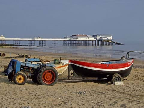 Cromer crab fishing boat
