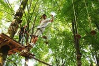 This is a game from the black track of the Adventure Park from Brasov.