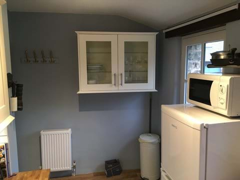 new kitchen in Mill Cottage