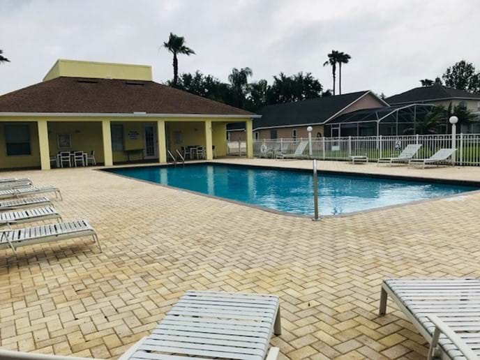 Clubhouse Communal Pool & Seating