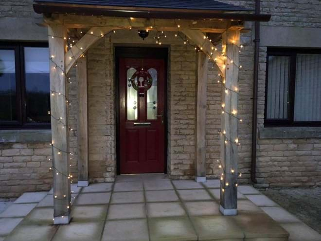 Xmas Time  - Self catering accommodation on a farm - Moo Cow Cottage self catering