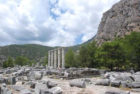Priene : 45 minute drive from Selcuk