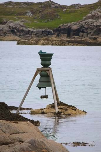 Bosta time and tide bell, Bernera