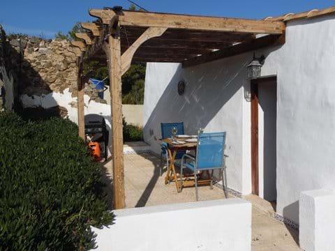 Casita Higuera outside Private Terrace area.