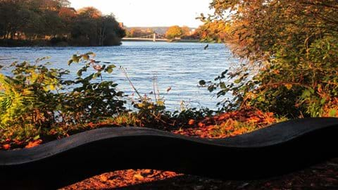Autumn on the River Ness
