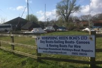 Launch your own boat at Hickling Broad