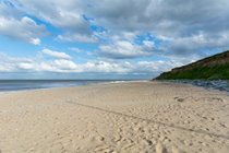 Fabulous beach just 5 minute walk from chalet