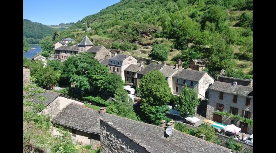 The beautiful village of Brousse le Chateau, 10 minutes from La Caze
