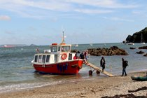 Take a ferry from Plymouth Barbican to a small Cornish village of Cawsand