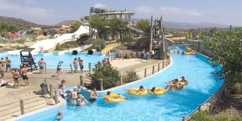 Bergerac Aqua Park - The children will love it