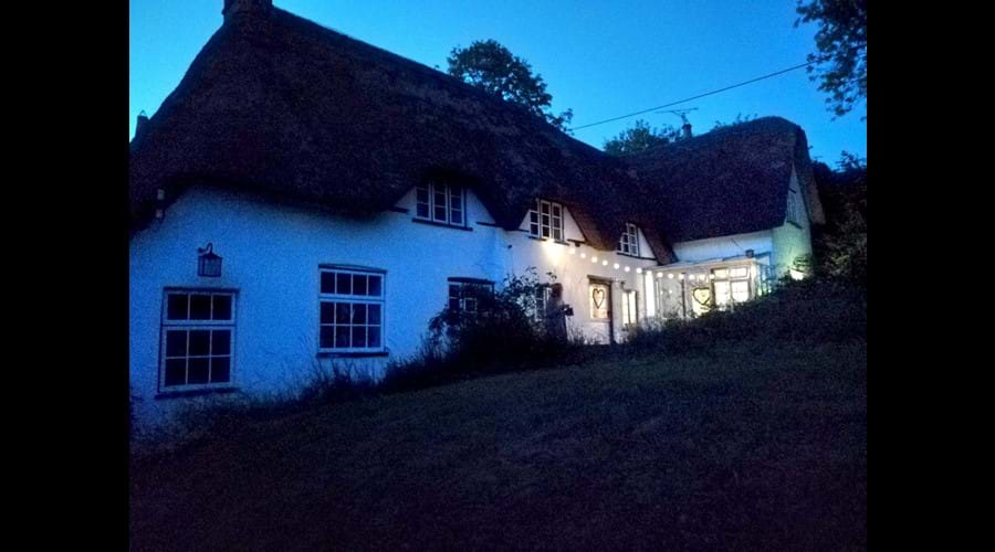 Merlewood Cottage, early evening