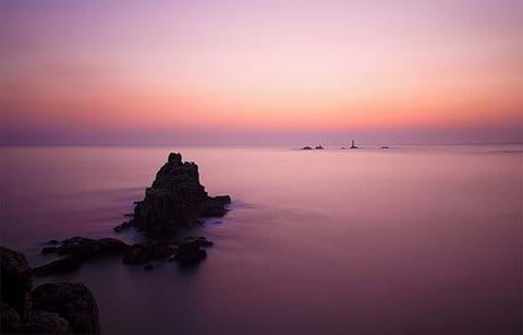 An evening picture at Lands End