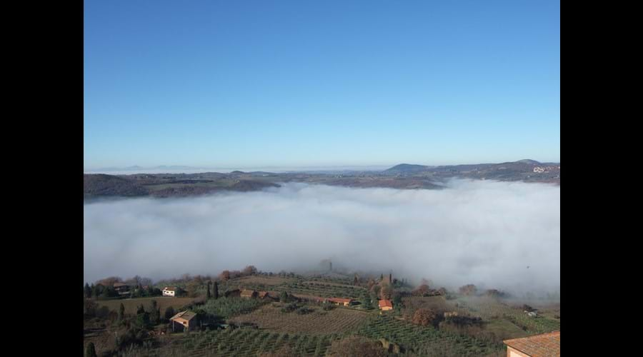 Winter - view from Montepulciano