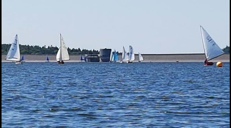 Sailing at Roadford Lake- 30 mins away