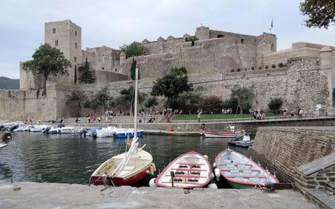Le Château Royal, Collioure contient de grandes expositions d