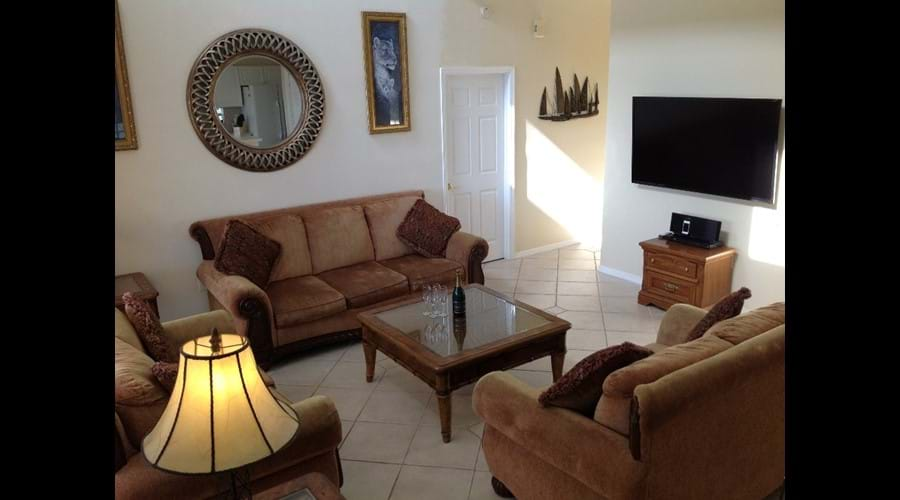 Family Room - Three large sofa