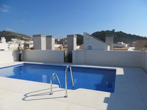Communal roof-top swimming pool