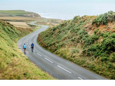 Enjoy cycling on the island, miles of quiet roads