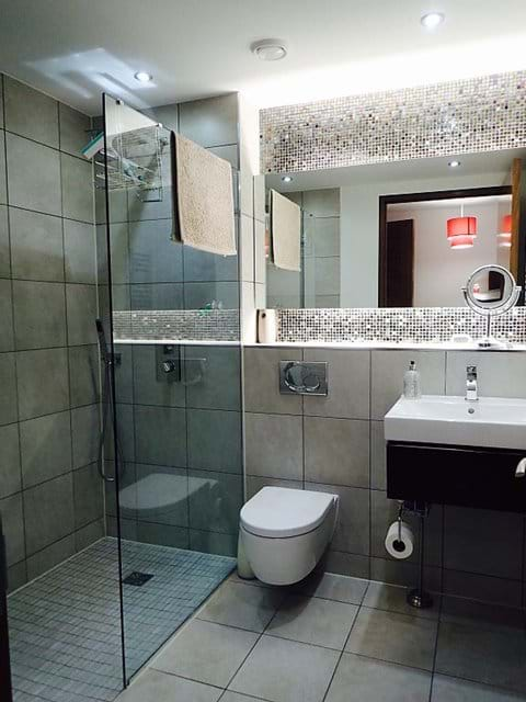 En-suite with walk-in shower