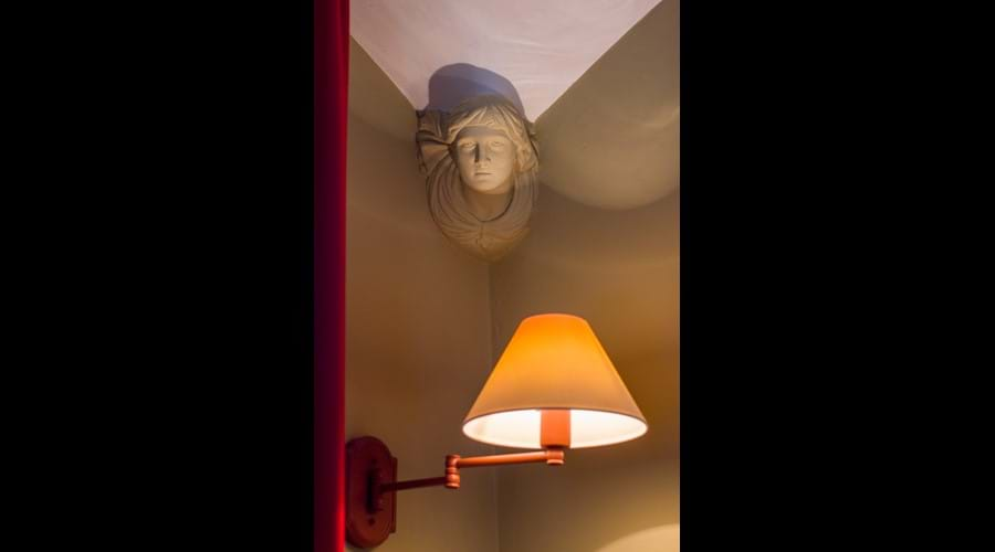Unusual architectural detail in the Master bedroom.
