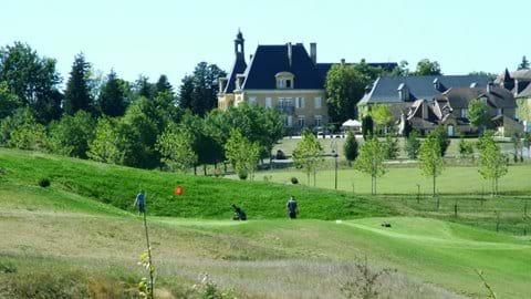 The 9 hole golf course - Domaine d