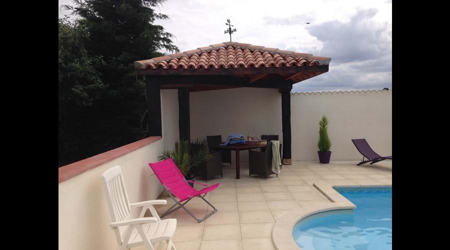New Pool Terrace