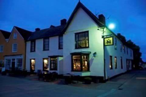 The Angel Pub over looking Lavenhams Market Place