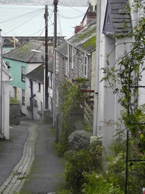 Ancient Lanes down to Newlyn harbour