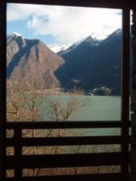 Villa Rustica lake and mountain views from the 2nd floor balcony