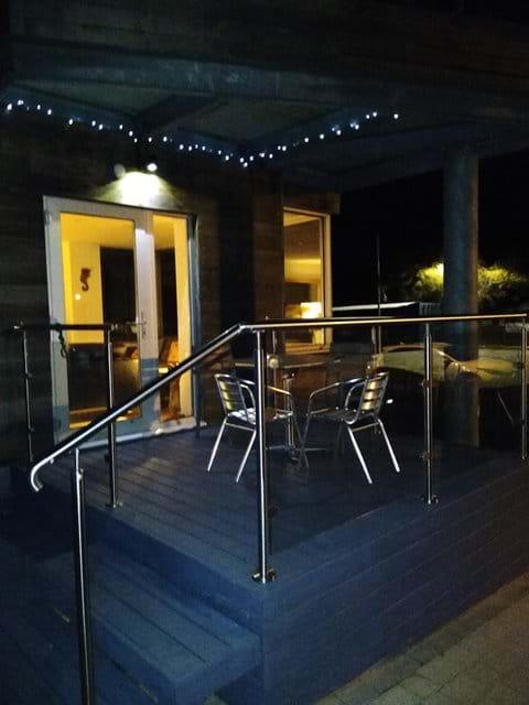 Deck Balcony (night)
