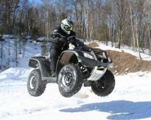 ATV fun in Pamporovo