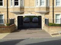 Secure Allocated Parking Behind Electric Gates