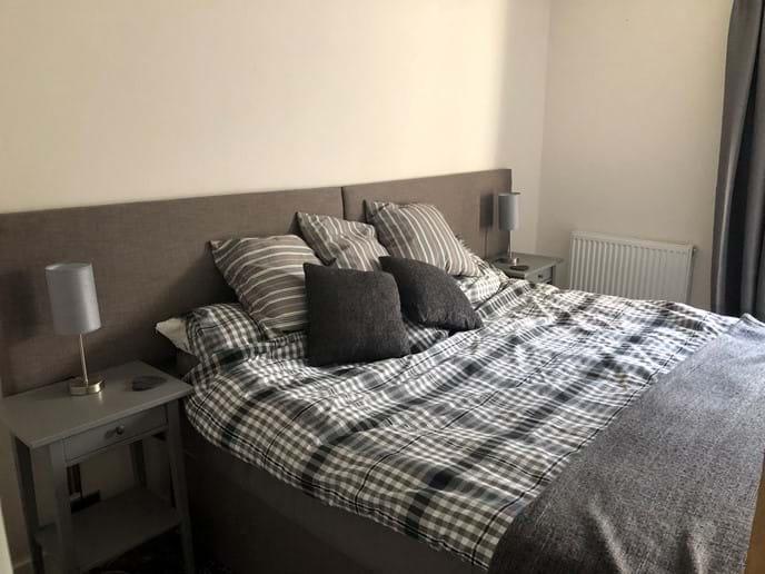 Bedroom 3 set as super king