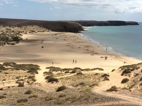 Beautiful unspolit beaches at Papagayo