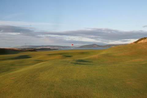 Castle Stuart golf course is the nearest golf course, about 10 minutes away