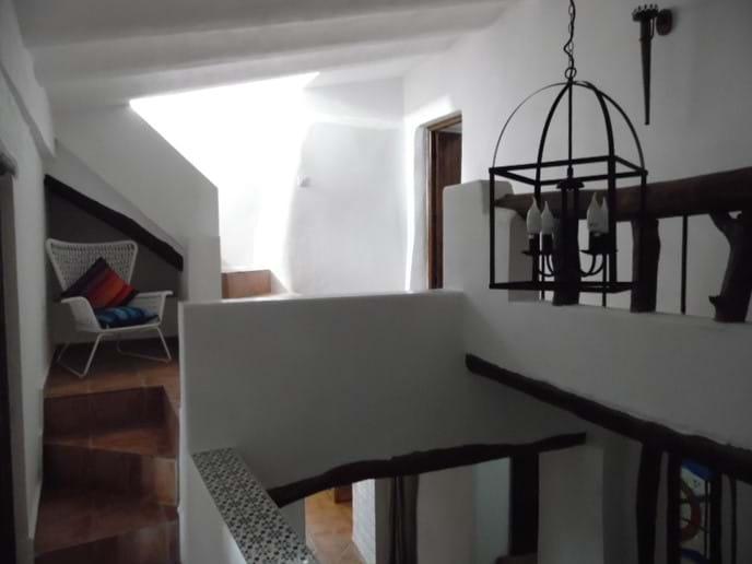 Upstairs Hallway.