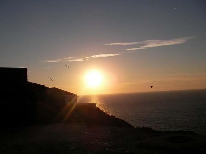 Sunset Cape de Vincent