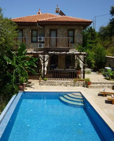 Villa Gelincik, Selimiye Village, Marmaris, Turkey (sleeps 8/9)