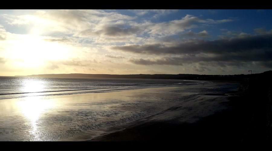 Miles of beautiful beach